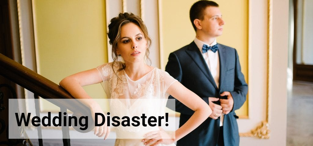 wedding planner disaster